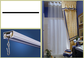 Shower Rods Straight Ceiling Curtain Rod